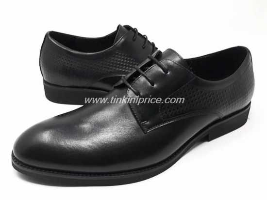 Clarks Lace Up Corporate Shoe Black