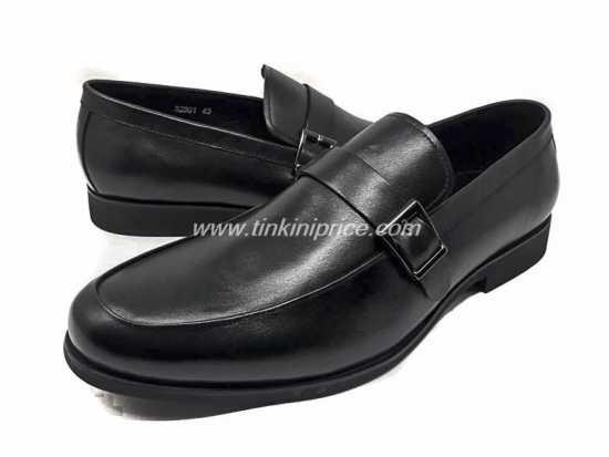 Robert Wood Buckle Corporate Shoe Black