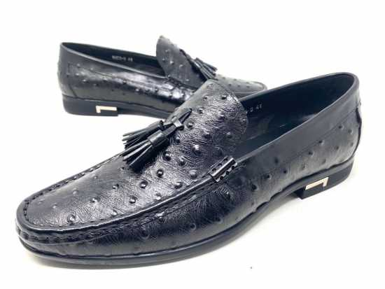 Valentino Doted Design Loafers Black