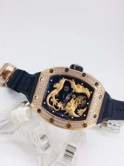 Frank Muller Stone Watch Rubber Hand