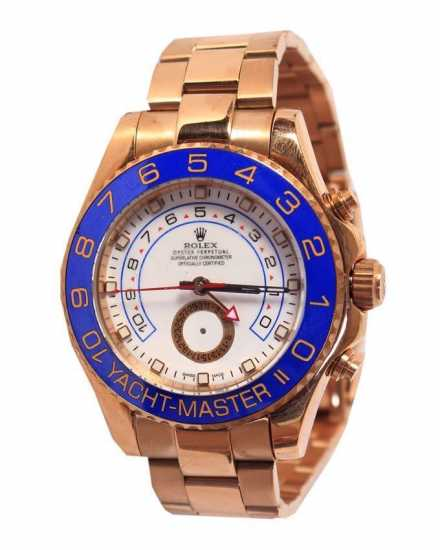 Rolex Yacht-Master Ii Rose Gold Watch