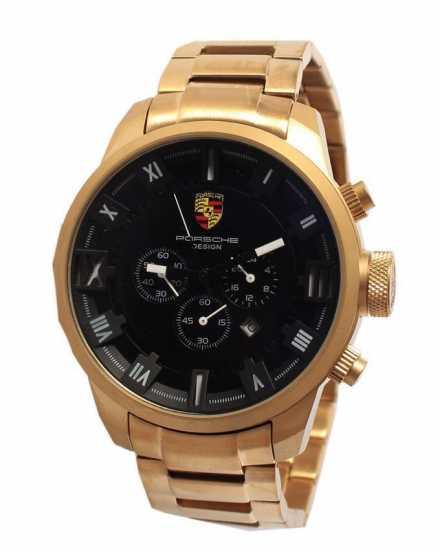 Porsche Design Dashboard Chronograph Gold Stainless Steel Watch P9484