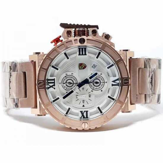 Porsche All Stainless Steel Watch - Rose Gold