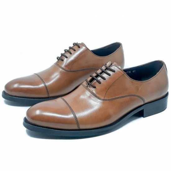 Mr Serguis Lace Up Formal Shoe Brown