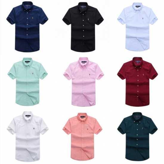 Ralph Lauren Plain Short Sleeve Shirt