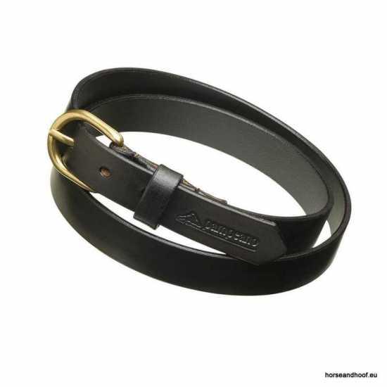 Polo Skinny Belt Black