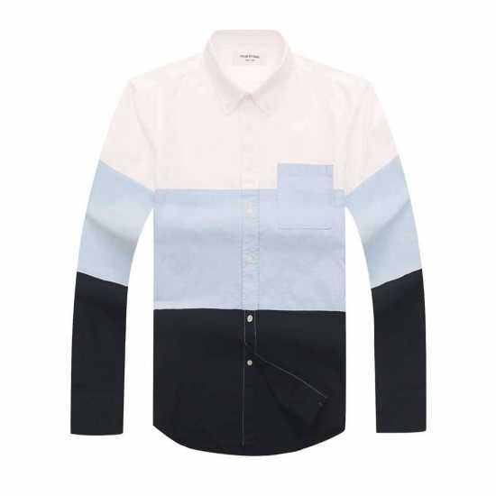 Thom Browne Multi colored Long Sleeve Shirt 2