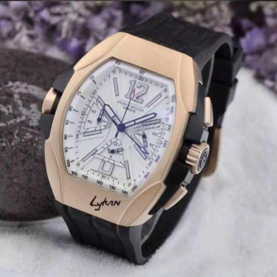 Franck Muller Leather Watch