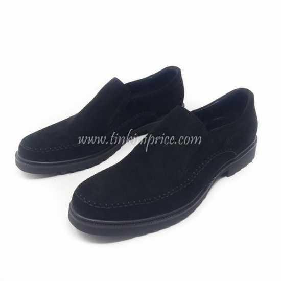 Clark Suede Shoe Black