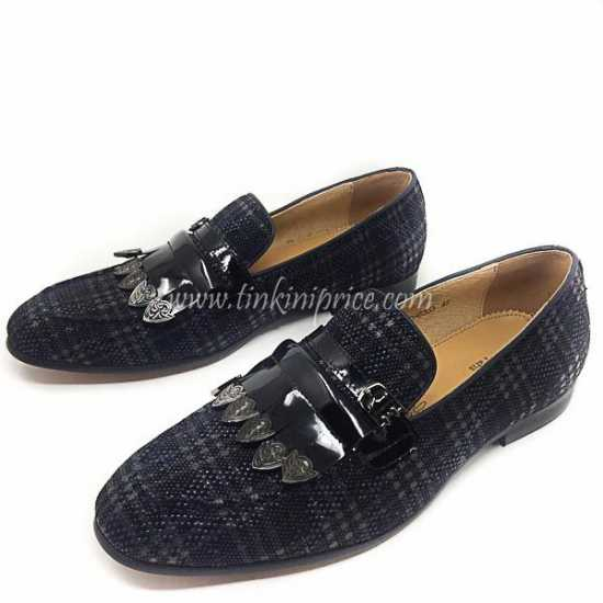 Berluti Checkered Loafers Shoe 1