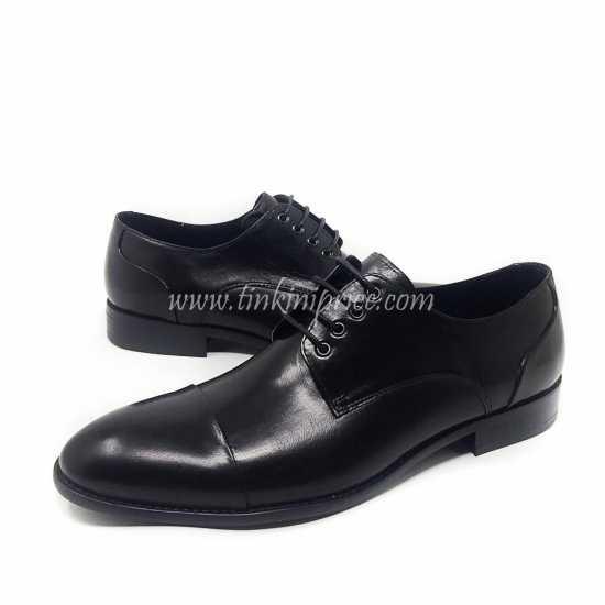 Berluti Lace Up Derby Shoe  Black