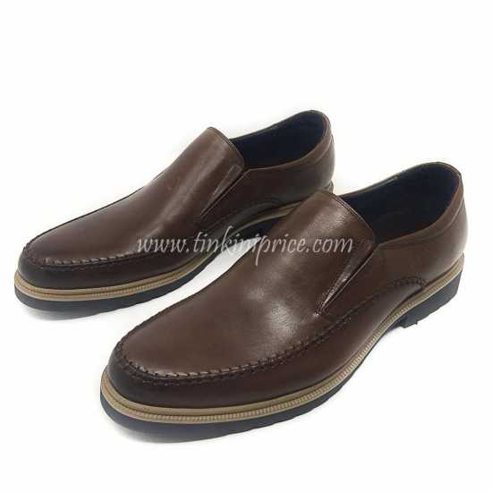 Clark Leather Shoes Brown