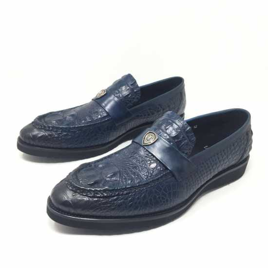 Loriblu Croc Design Shoes Blue