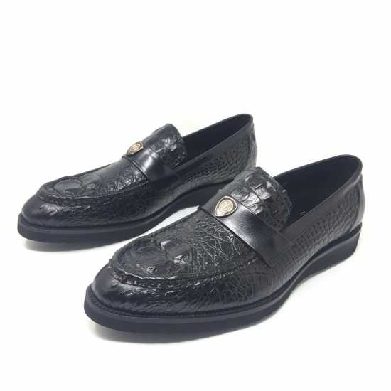 Loriblu Croc Design Shoes Black