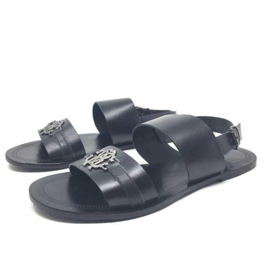 Roberto Cavalli Sandals Black