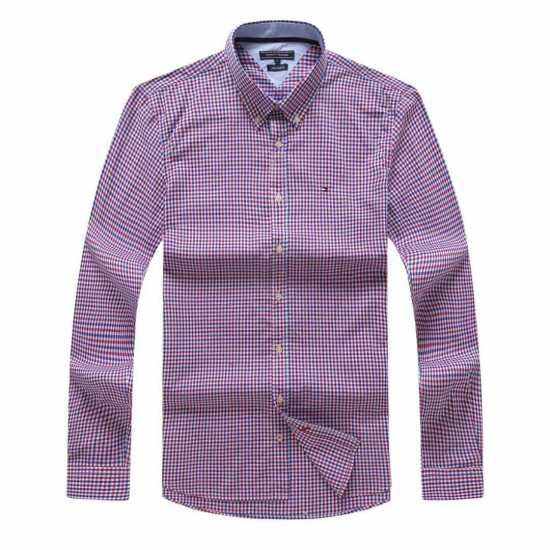 Tommy Hilfiger Classic Checkered Long Sleeve Shirt 2