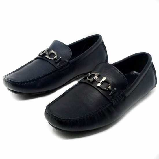 Salvatore Ferragamo Classic Loafers - Black