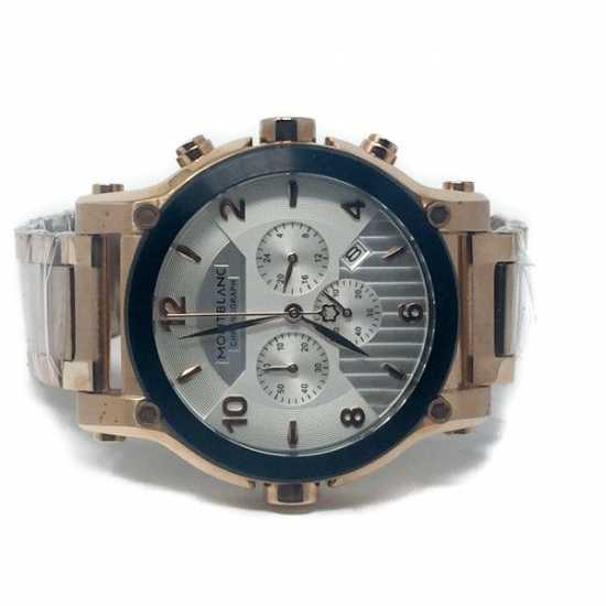 Montblanc Chronograph Swiss Made Stainless Steel 9168 - Rose Gold