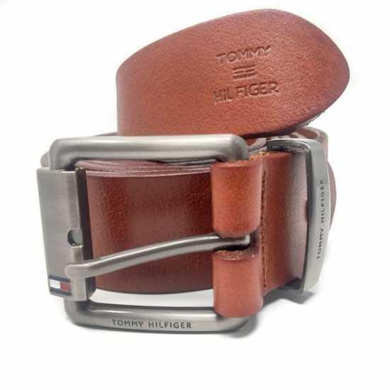 Tommy Hilfiger leather Belt brown