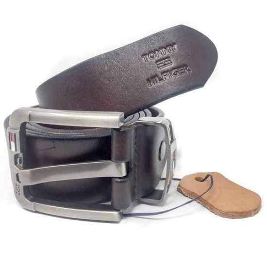 Tommy Hilfiger leather Belt Coffee brown