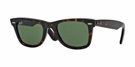 Ray Ban Sunglasses Folding Wayfarer RB 4105 601/58 Polarized Green 50mm