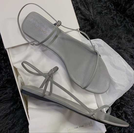 The Row Sandals - GREY