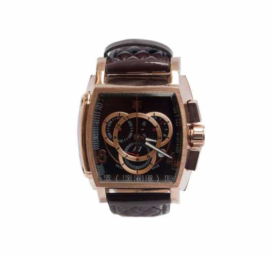 Formula 1 3 Chronograph Men's Leather Watch Brown