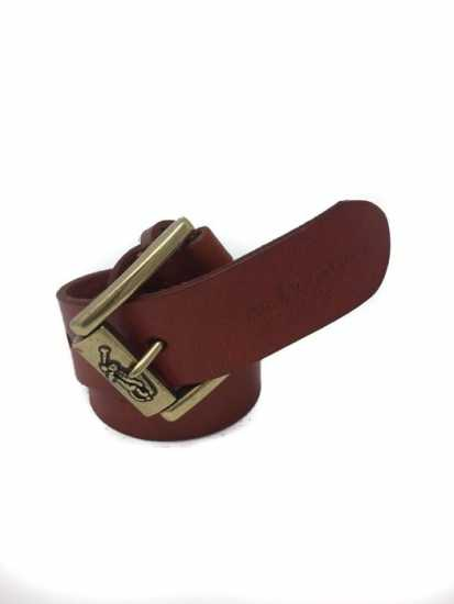 Polo Ralph Lauren Authentic Leather Belt - Brown