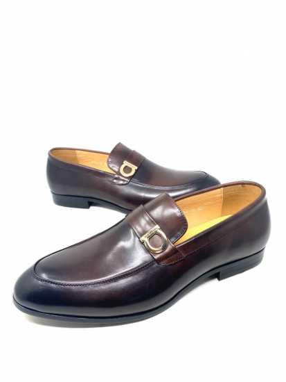 Salvatore Ferragamo Lionel Loafers Shoe Brown