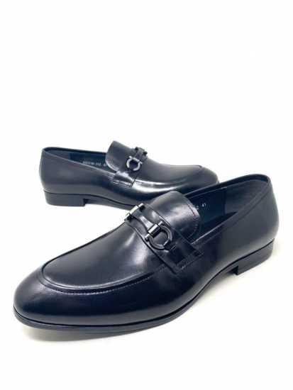 Salvatore Ferragamo Leatherl Loafers Shoe Black