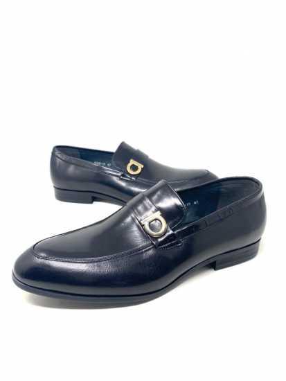 Salvatore Ferragamo Lionel Loafers Shoe Black